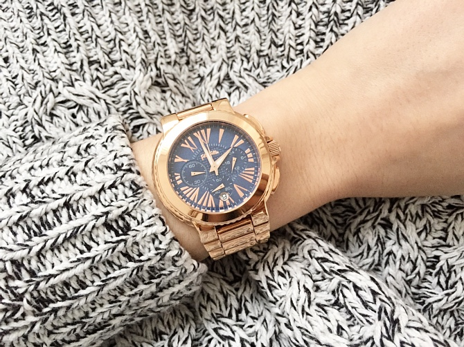 Folli Follie Rose Gold Watchalicious Watch
