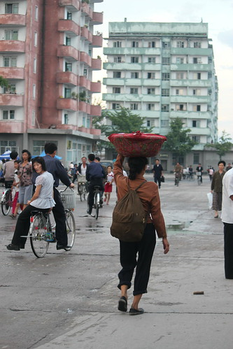 woman basket north korea dprk coreadelnorte hamhung
