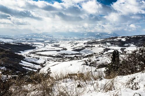 winter sky italy panorama snow clouds canon landscape campania neve 1855 inverno paesaggio benevento 600d sannio paduli dormientedelsannio