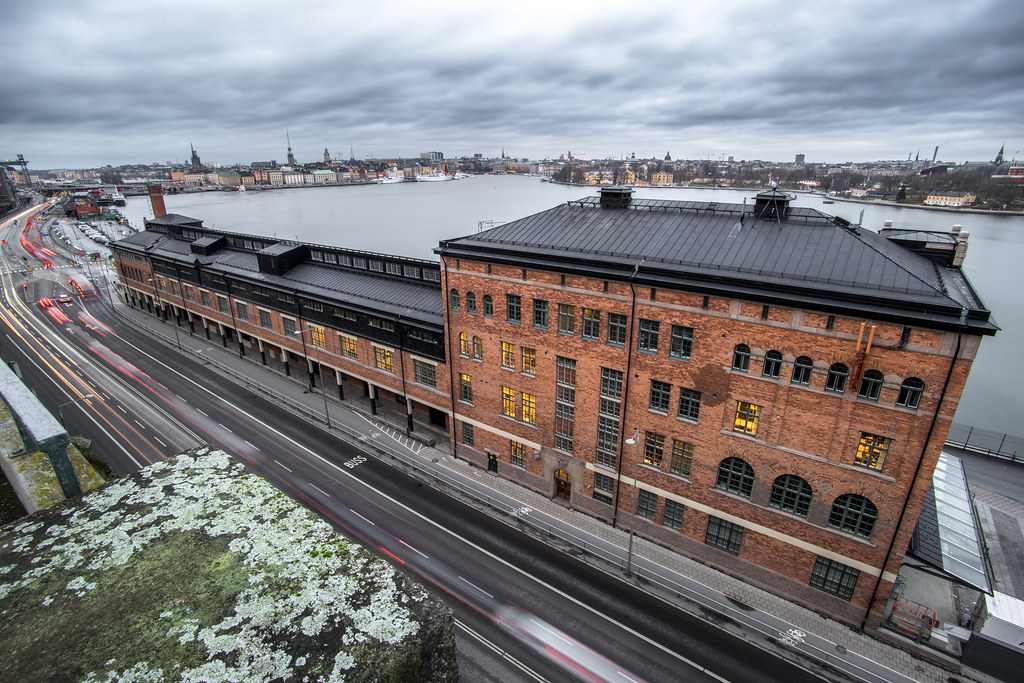 Fotografiska and a view of Stockholm, Sweden picture