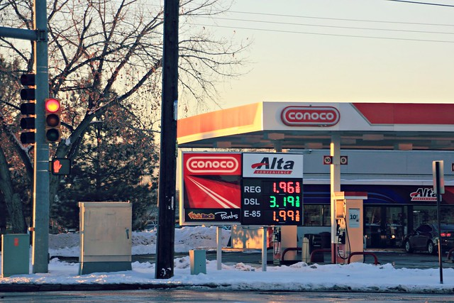 Gas is cheap!