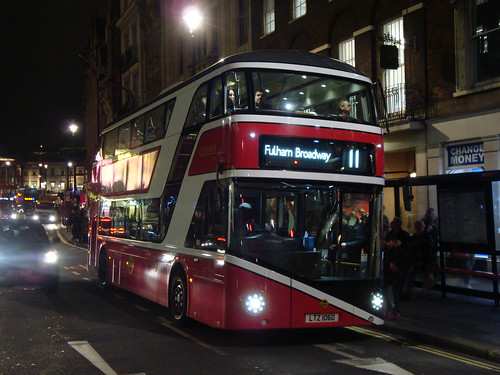 London General LT60 (YOTB General) on Route 11, Whitehall