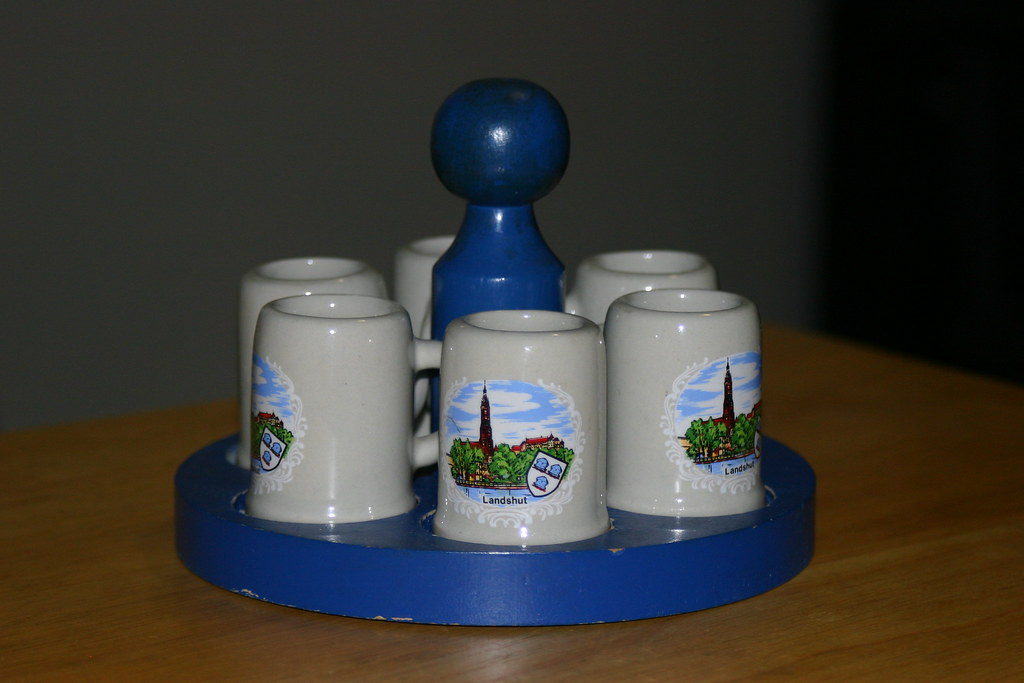 German Shotglass Carousel
