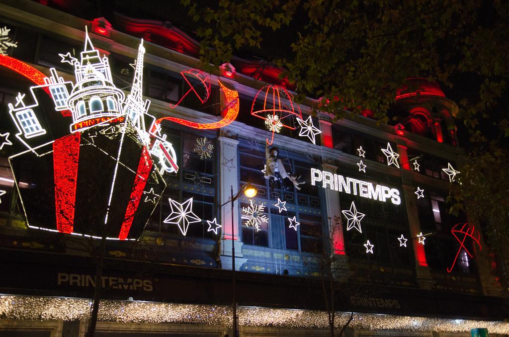 Printemps Haussmann aux couleurs de Noël