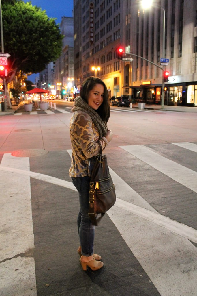 Downtown LA city look #style #outfits