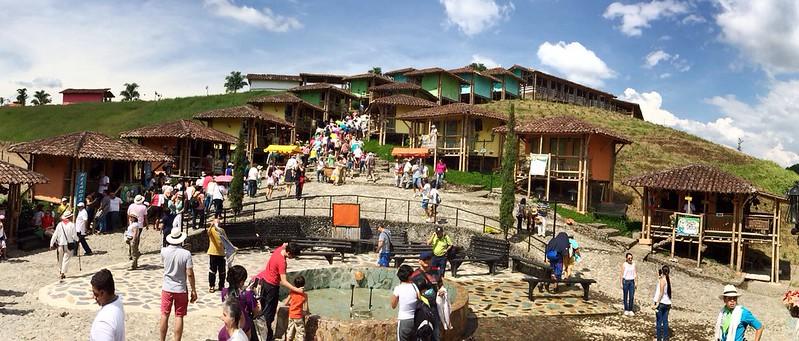 Parque los arrieros en Quimbaya
