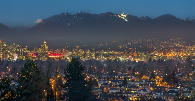 City of lights - Vancouver