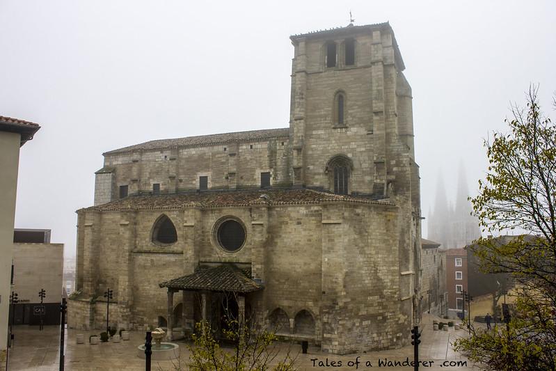 BURGOS - Iglesia de San Esteban / Catedral de Santa María