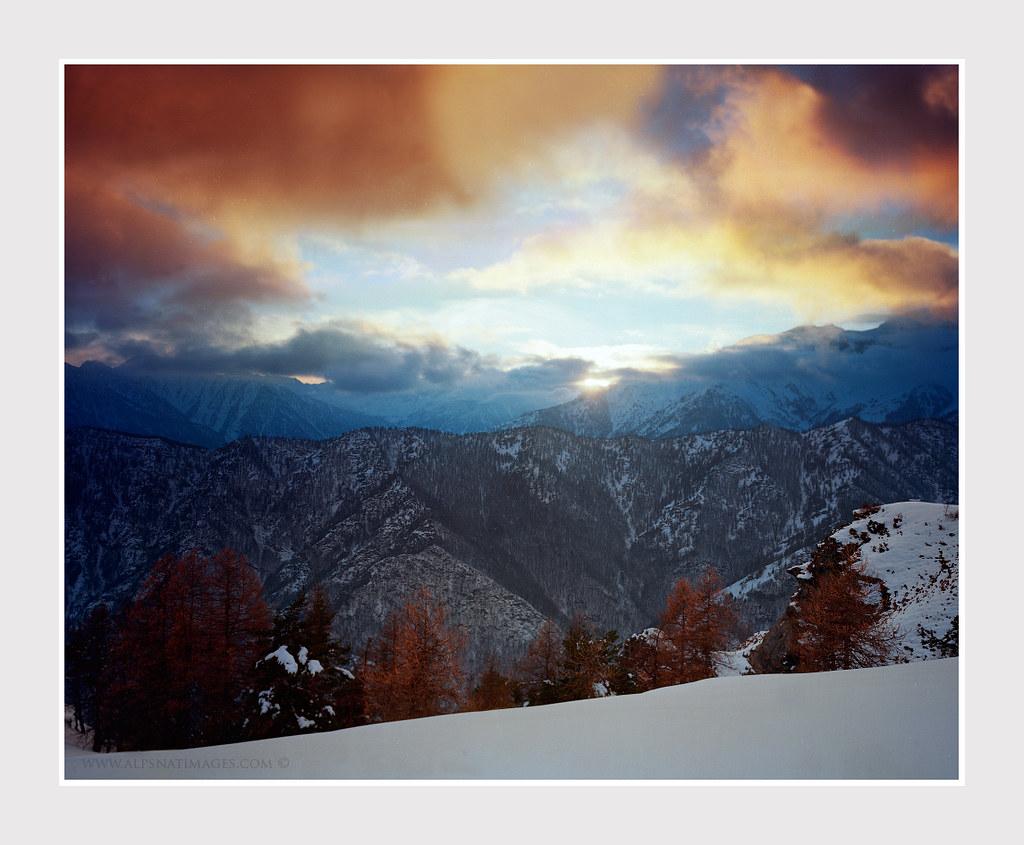 Flickr Photos Tagged Dainippon Picssr 100 Dai Nippon Valle Maira Sunset Scan From 4x5 Kodak Ektar