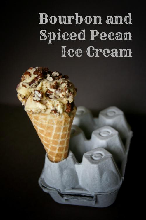 Bourbon and Spiced Pecan Ice Cream
