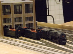 Engine house with PRR engines