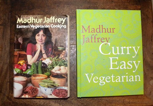 Madhur Jaffrey, Eastern Vegetarian Cooking and Curry Easy Vegetarian