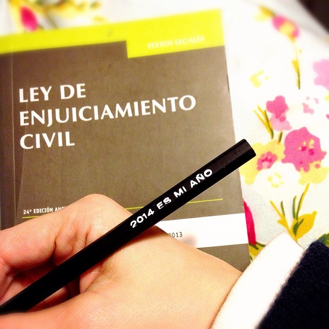 Mola mucho estudiar con este lápiz... ☺️