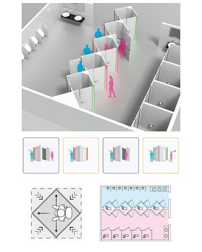 解決女廁排隊問題 東海大學工業設計系學生獲德國紅點設計獎