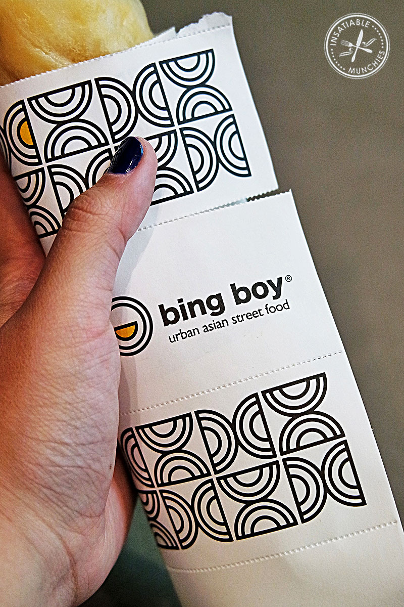 Bing Boy crepe with wrapper