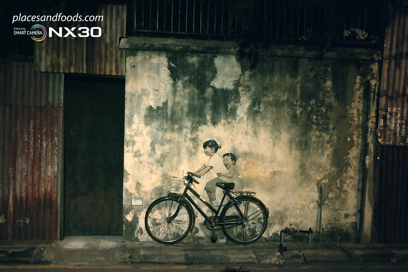 Ernest Zacharevic Little Children on a Bicycle