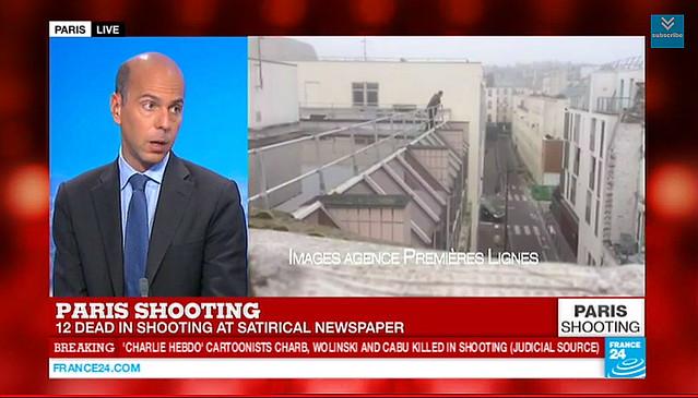 Atentado terrorista en París