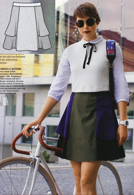 Burda-2015-January_Layered A Line Skirt