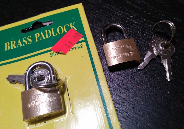 Mini Practice Locks