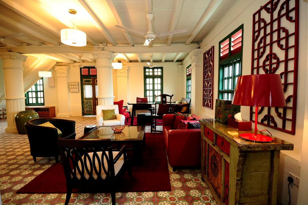 Colonial House-Common Living Hall 1
