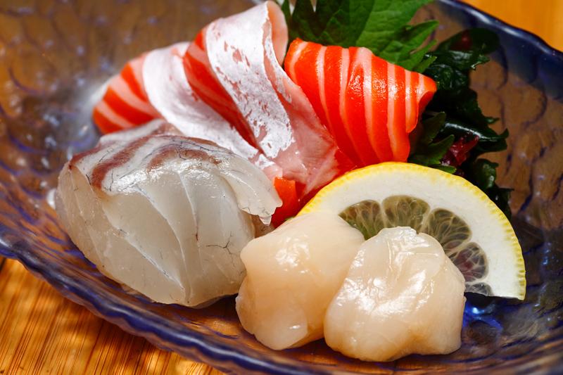 Jyu Raku Set Lunch Sashimi Option