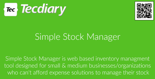 Simple Stock Manager v2.0.4