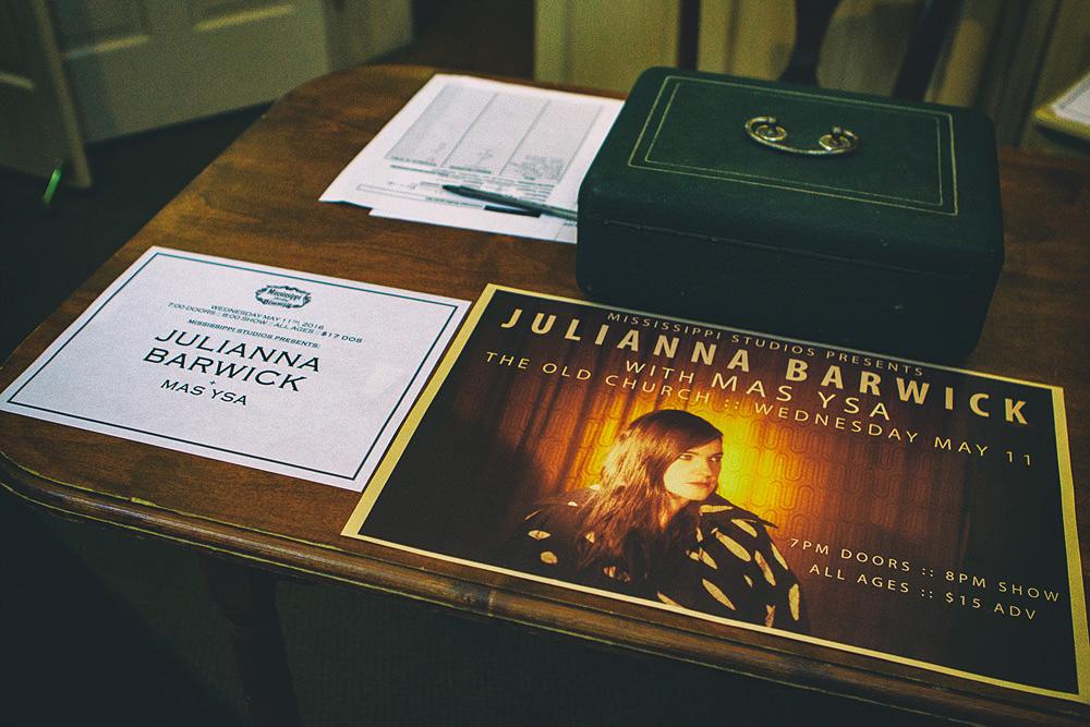 BTS: Juliana Barwick