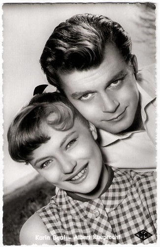 Karin Baal and Albert Rueprecht in Der müde Theodor (1957)