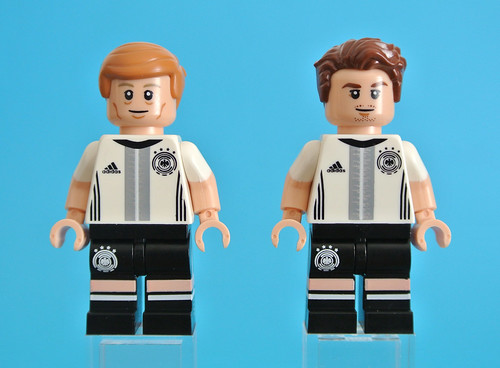 71014 DFB German Football Team Collectable Minifigures