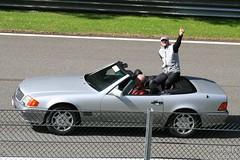 F1 legend Michael Schumacher at Spa