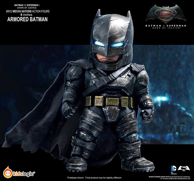 Kids Logic Mecha Nations MN12《蝙蝠俠對超人:正義曙光》重裝蝙蝠俠 Batman Armored Version