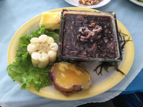 Trujillo: cebiche de palourdes noires, une spécialité du Pérou !