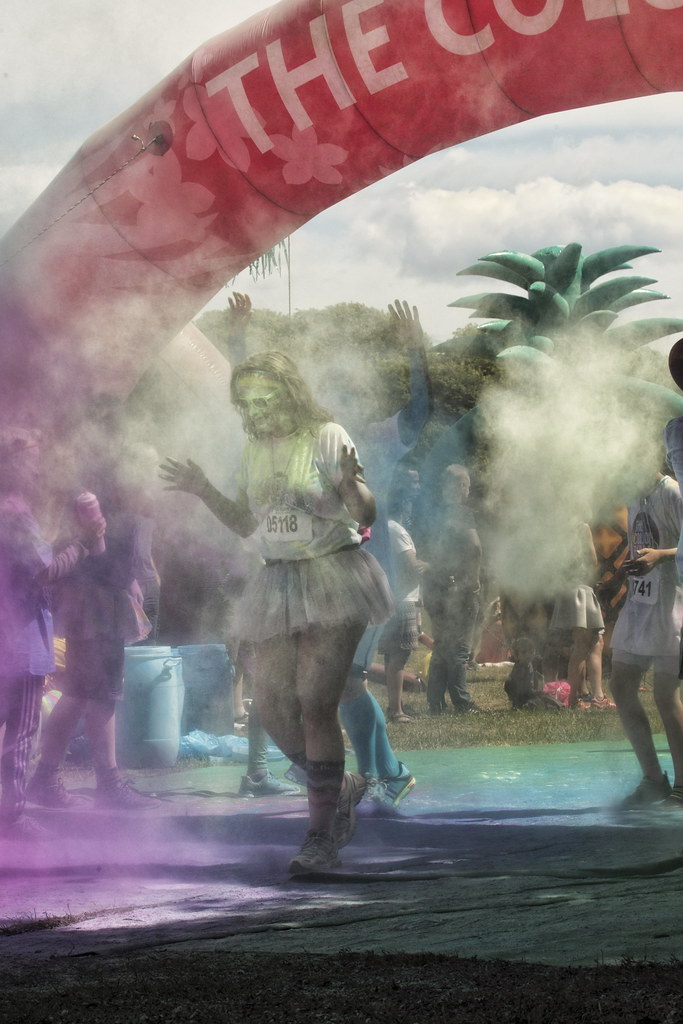 The Color Run Copenhagen 2016, Valbyparken