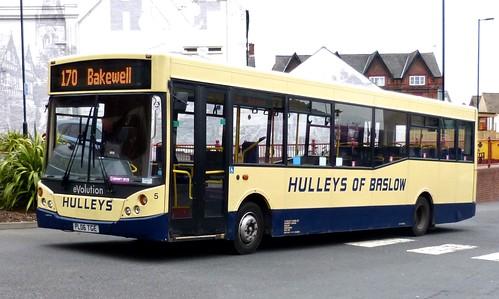PL06 TGE 'Hulleys of Baslow' 5 Dennis Dart / MCV Evolution on 'Dennis Basfords railsroadsrunways.blogspot.co.uk'