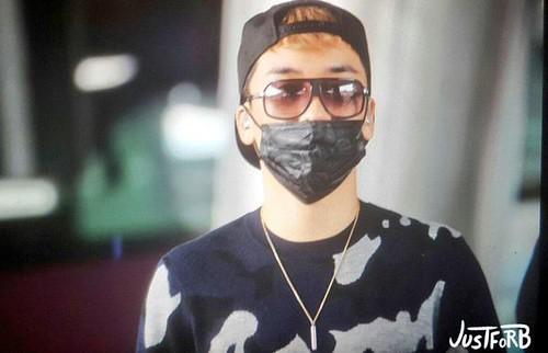 BIGBANG arrival ICN Seoul from Taiwan 2015-09-28 (6)
