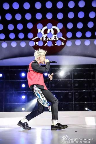 G-Dragon - Kappa 100th Anniversary Event - 26apr2016 - catherine31 - 12