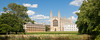 Panorama of King's College in Cambridge