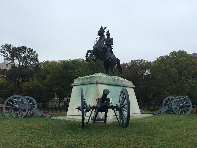 Andrew Jackson statue, Lafayette Square