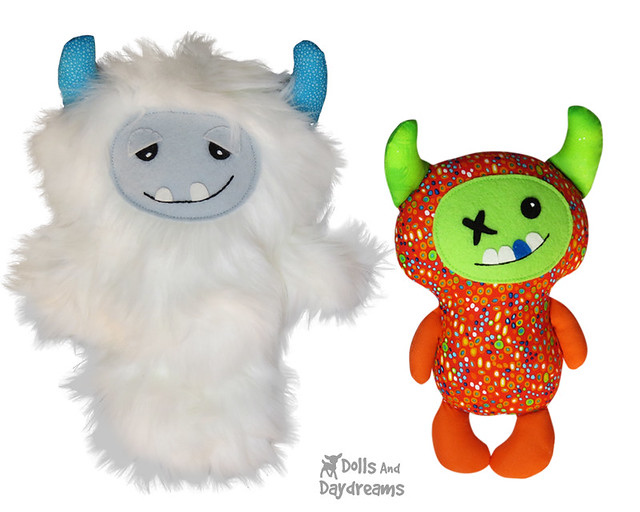 Yeti Monster Pattern