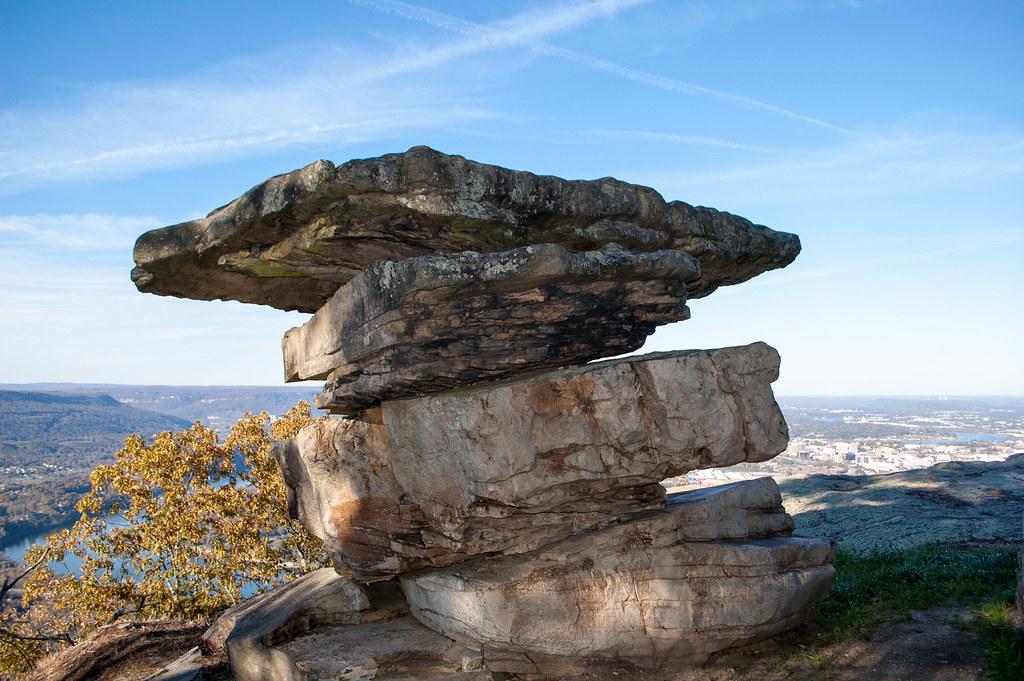 Umbrella Rock - Lookout Mountain (Color)