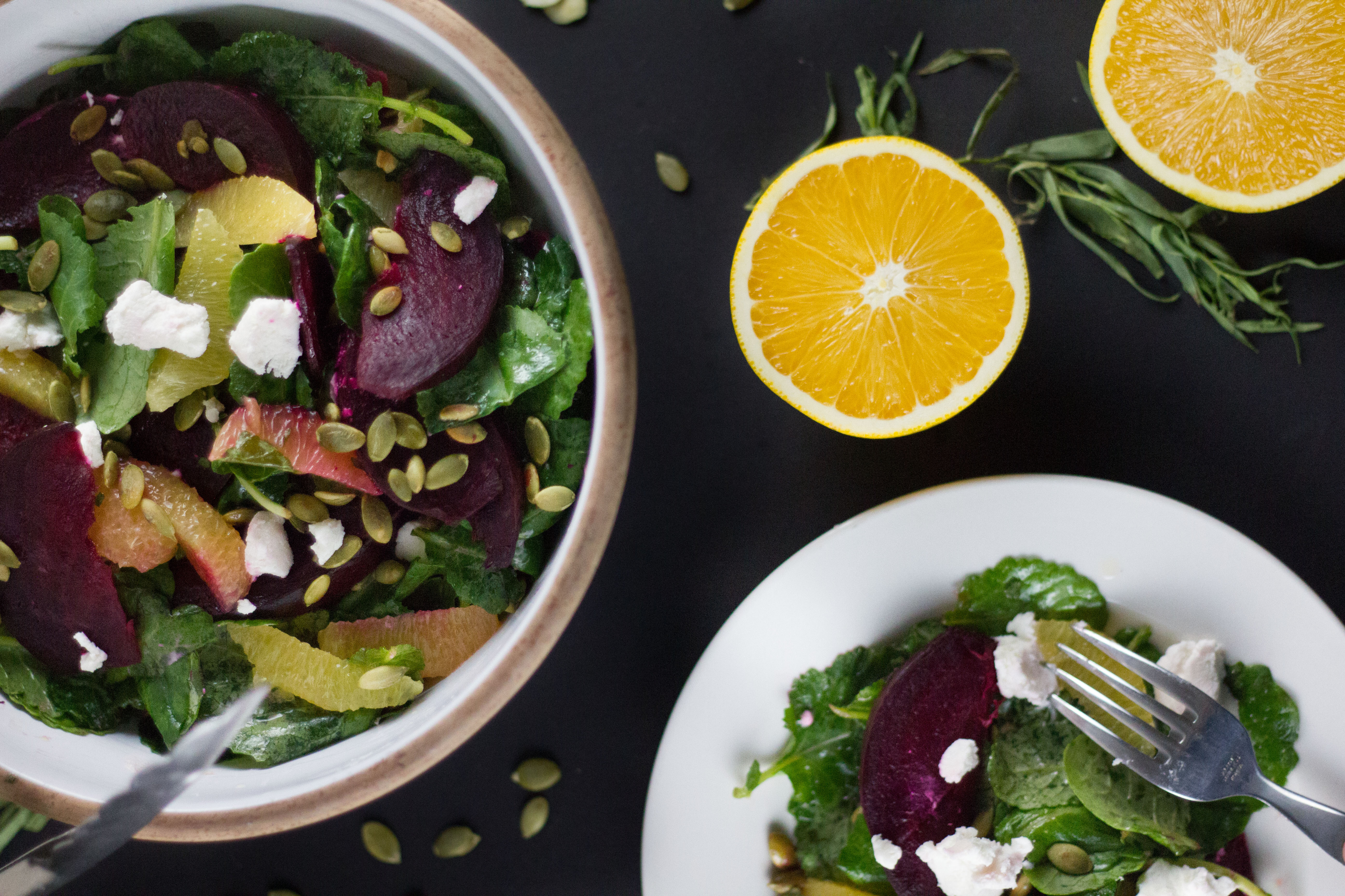 beet orange and kale salad (3 of 9)