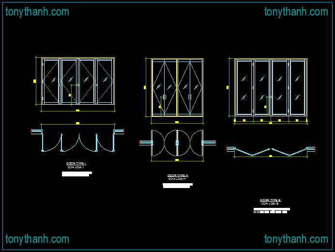 Folded Door Cad &     Cad Door Blocks Elevation And Door