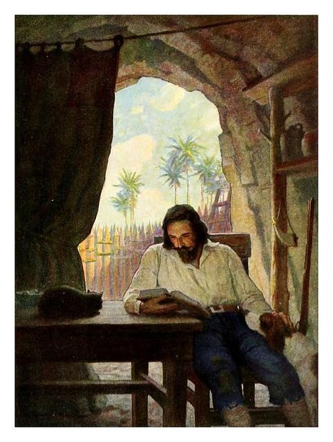 016-Robinson Crusoe-1920- ilustrado por NC Wyeth