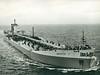 The tanker 'Borgsten' on sea trials