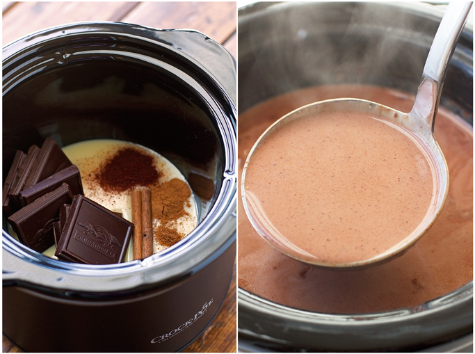 Mexican Hot Chocolate {Slow Cooker} Recipe | Little Spice Jar
