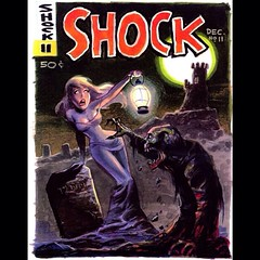 SHOCK! ... By Bruce Timm. #Comics #Horror #Halloween