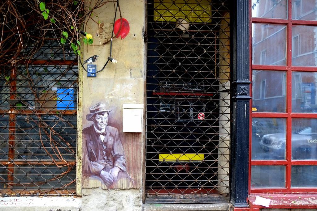 streetpainting   wiola stankiewicz   berlin . mitte . ackerstrasse