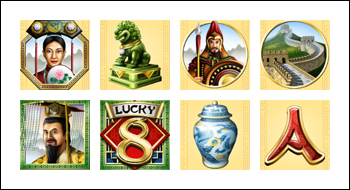 free Lucky 8 slot game symbols