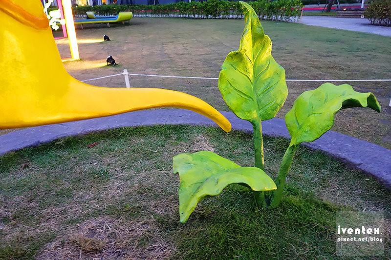 30刀口力台南善化南科幾米裝置藝術小公園