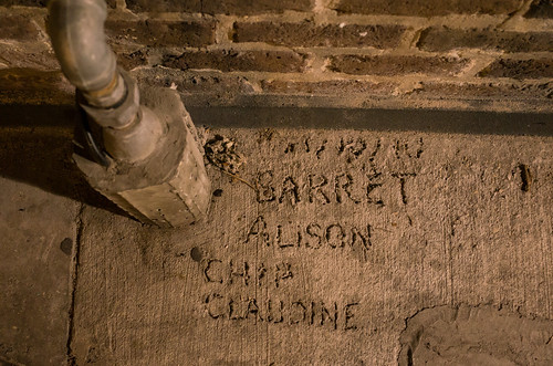 Names in New Orleans concrete, by Fiskadoro on Flickr (CC license)